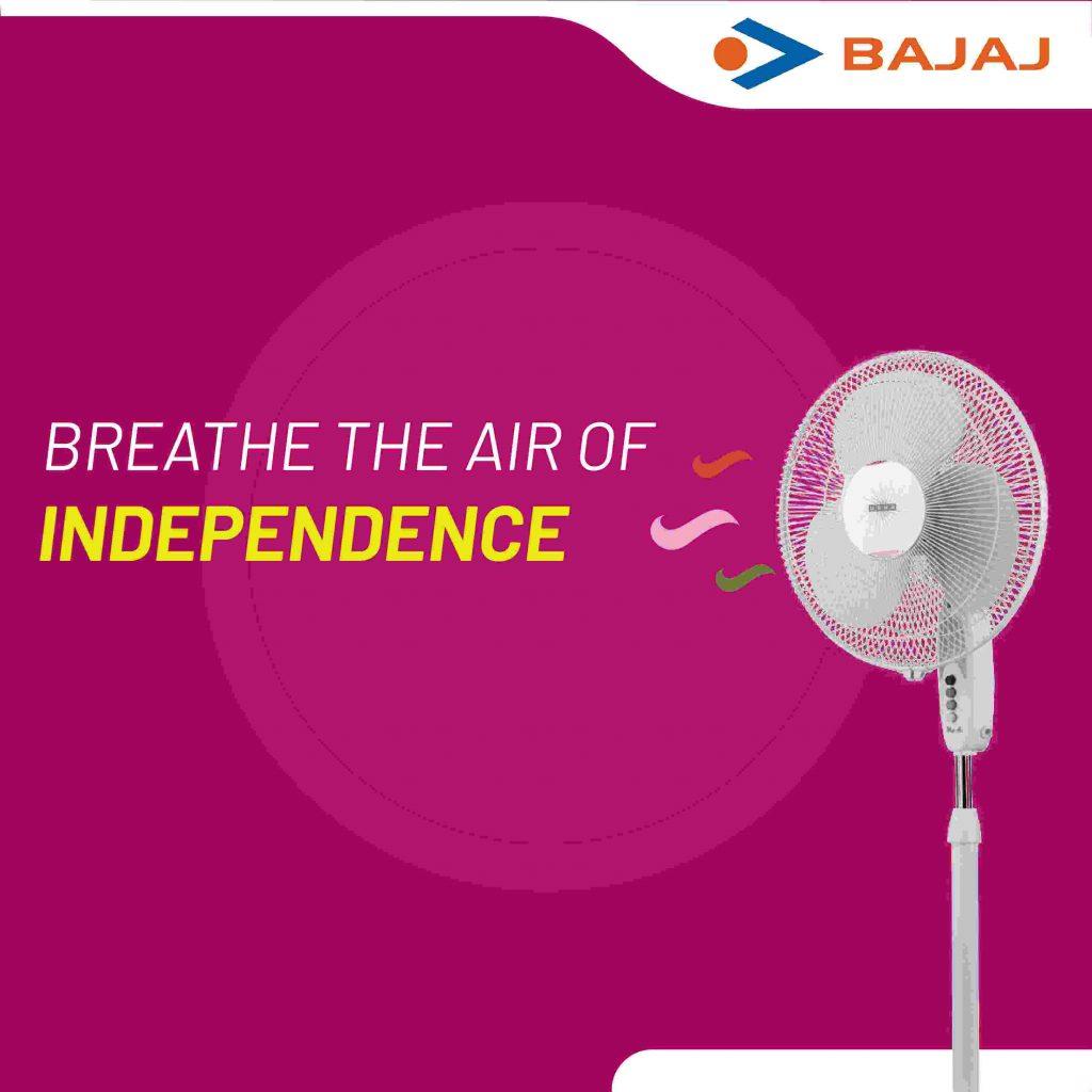 First Launch - Bajaj Fans