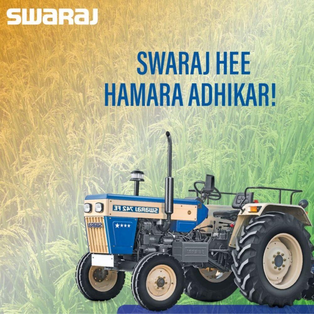 First Launch - Swaraj Tractors