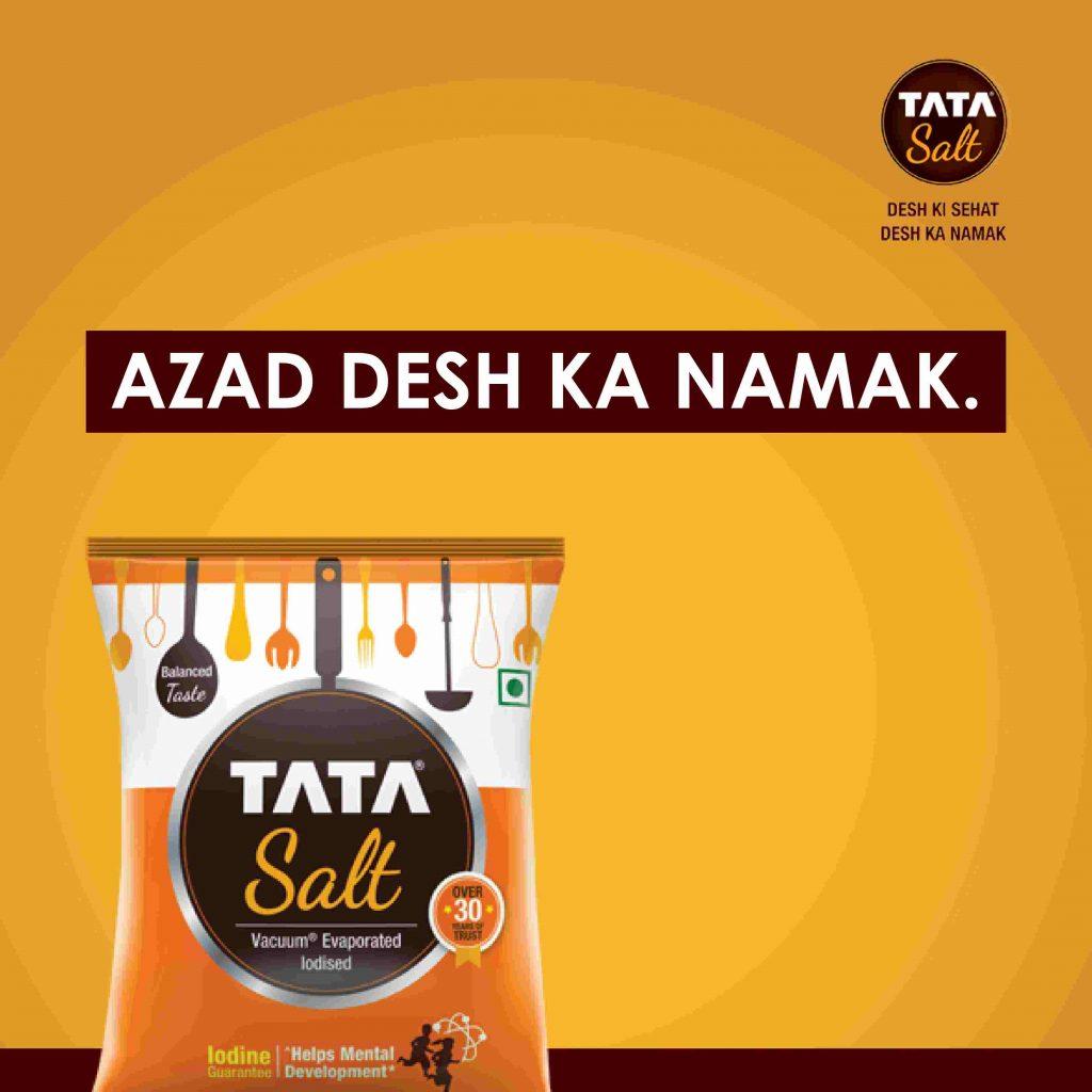 First Launch - Tata Salt